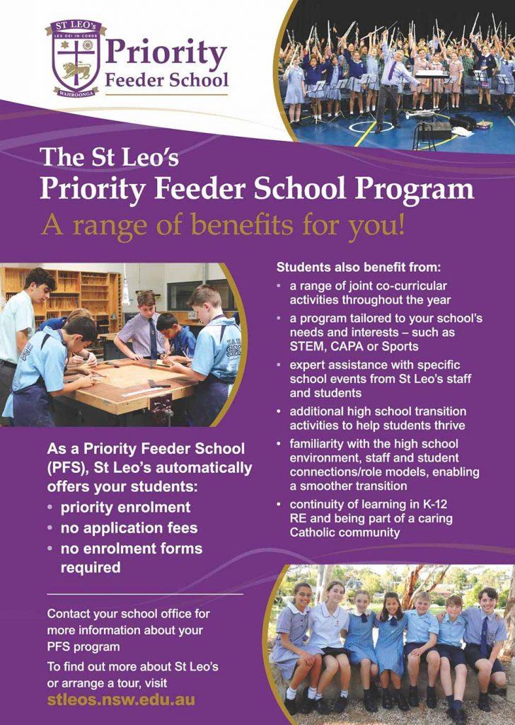 St Leo Priority Feeder School